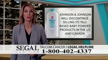 Segal Law TV Spot, 'Baby Powder: Ovarian Cancer Diagnosis' - Thumbnail 3