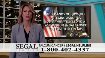 Segal Law TV Spot, 'Baby Powder: Ovarian Cancer Diagnosis' - Thumbnail 4