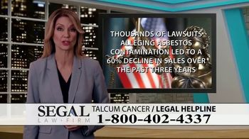 Segal Law TV Spot, 'Baby Powder: Ovarian Cancer Diagnosis' - Thumbnail 5