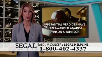 Segal Law TV Spot, 'Baby Powder: Ovarian Cancer Diagnosis' - Thumbnail 6