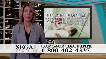 Segal Law TV Spot, 'Baby Powder: Ovarian Cancer Diagnosis' - Thumbnail 7