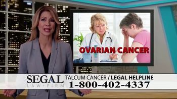 Segal Law TV Spot, 'Baby Powder: Ovarian Cancer Diagnosis' - Thumbnail 8