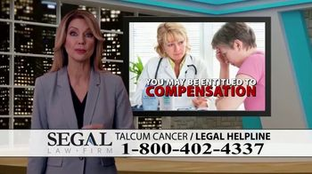 Segal Law TV Spot, 'Baby Powder: Ovarian Cancer Diagnosis' - Thumbnail 9