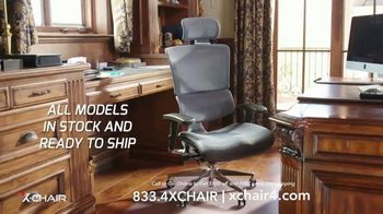X-Chair TV Spot, 'Working From Home: $100 Off' - Thumbnail 8