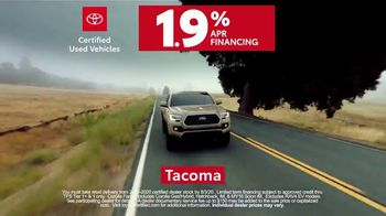 Toyota Certified Used Vehicles TV Spot, 'Synonymous With Trust' [T1] - Thumbnail 9