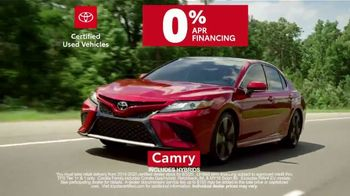 Toyota Certified Used Vehicles TV Spot, 'Synonymous With Trust' [T1] - Thumbnail 7