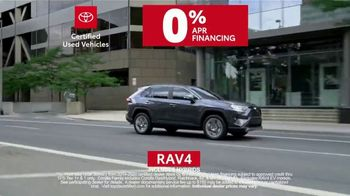 Toyota Certified Used Vehicles TV Spot, 'Synonymous With Trust' [T1] - Thumbnail 8