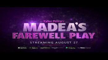 BET+ TV Spot, 'Tyler Perry's Madea's Farewell Play' Song by Mama Haze - Thumbnail 8