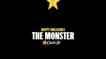 Carl's Jr. Monster Angus Thickburger TV Spot, 'The Only Way to Stop It Is to Eat It' - Thumbnail 1