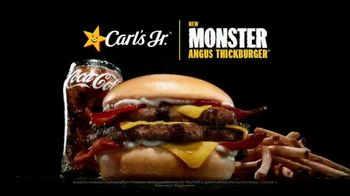 Carl's Jr. Monster Angus Thickburger TV Spot, 'The Only Way to Stop It Is to Eat It' - Thumbnail 8