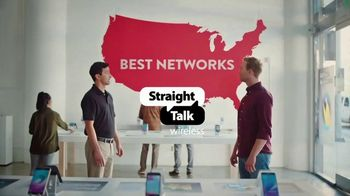 Straight Talk Wireless Unlimited Plan TV Spot, 'Same Networks for Less' - Thumbnail 1