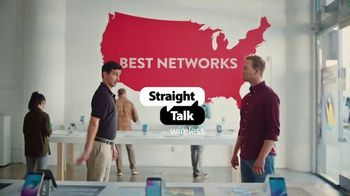 Straight Talk Wireless Unlimited Plan TV Spot, 'Same Networks for Less' - Thumbnail 2