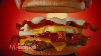 Wendy's TV Spot, 'Tomorrow Brings More: Free Maple Bacon'