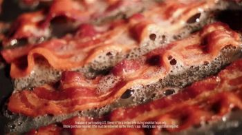 Wendy's TV Spot, 'Tomorrow Brings More: Free Maple Bacon' - Thumbnail 5