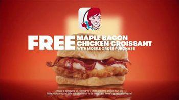 Wendy's TV Spot, 'Tomorrow Brings More: Free Maple Bacon' - Thumbnail 7