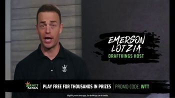 DraftKings TV Spot, 'World Team Tennis: Get in on the Action'