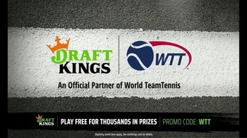 DraftKings TV Spot, 'World Team Tennis: Get in on the Action' - Thumbnail 3
