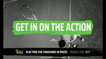 DraftKings TV Spot, 'World Team Tennis: Get in on the Action' - Thumbnail 4