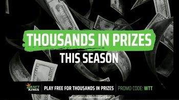 DraftKings TV Spot, 'World Team Tennis: Get in on the Action' - Thumbnail 5