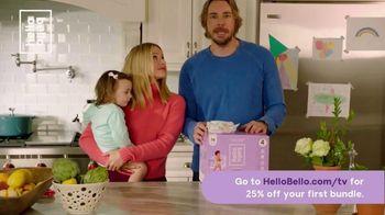 Hello Bello TV Spot, 'Diapers for Cute Butts' Featuring Kristen Bell, Dax Shepard
