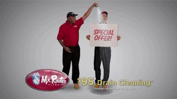 Mr. Rooter Plumbing TV Spot, 'Drain Cleaning: $95'