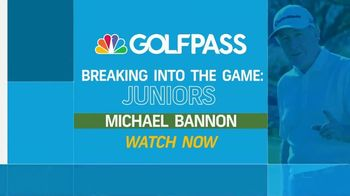 GolfPass TV Spot, 'Breaking Into the Game: Juniors' Featuring Michael Bannon, Rory McIlroy - Thumbnail 7