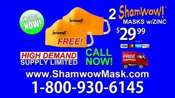 ShamWow Mask TV Spot, 'Save Yourself' - Thumbnail 10
