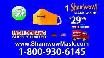 ShamWow Mask TV Spot, 'Save Yourself' - Thumbnail 9