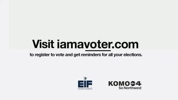 Entertainment Industry Foundation TV Spot, 'I Am a Voter: Up for Election in 2020' - Thumbnail 10
