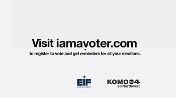Entertainment Industry Foundation TV Spot, 'I Am a Voter: Up for Election in 2020' - Thumbnail 9