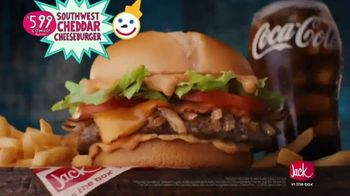 Jack in the Box $5.99 Southwest Cheddar Cheeseburger Combo TV Spot, 'Menutaur: The Best' - Thumbnail 8