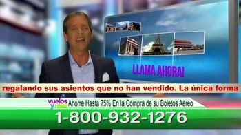 Vuelosymas.com TV Spot, 'Boletos baratos: boletin especial para viajeros' [Spanish] - Thumbnail 6
