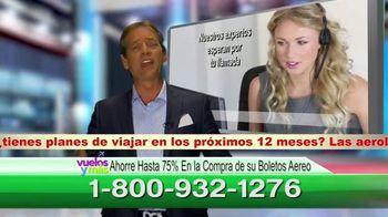 Vuelosymas.com TV Spot, 'Boletos baratos: boletin especial para viajeros' [Spanish] - Thumbnail 5