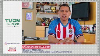 Gangas & Deals TV Spot, 'TUDN Fan Shop' con Aleyda Ortiz, Ramón Morales [Spanish] - Thumbnail 3