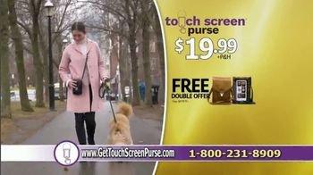 Touch Screen Purse TV Spot, 'Double Offer $19.99' Featuring Lori Greiner - Thumbnail 9
