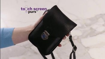 Touch Screen Purse TV Spot, 'Double Offer $19.99' Featuring Lori Greiner - Thumbnail 3