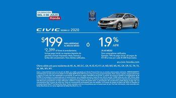 Honda Celebración del 4 de Julio TV Spot, 'Disfruta del camino: Accord y Civic' [Spanish] [T2] - Thumbnail 6