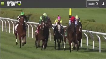 NYRA Bets TV Spot, 'Watch Live From Anywhere: $20 Free Play' - Thumbnail 2