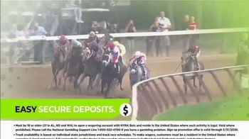 NYRA Bets TV Spot, 'Watch Live From Anywhere: $20 Free Play' - Thumbnail 5