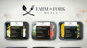 Farm to Fork Meals TV Spot, 'Delicious and Healthy Meal Plan Delivery Service: 25% Off'