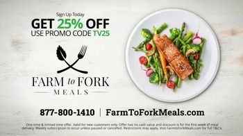 Farm to Fork Meals TV Spot, 'Delicious and Healthy Meal Plan Delivery Service: 25% Off' - Thumbnail 5