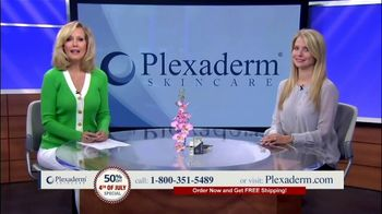Plexaderm Skincare Fourth of July Special TV Spot, 'Hottest Videos: 50 Percent off' - 261 commercial airings