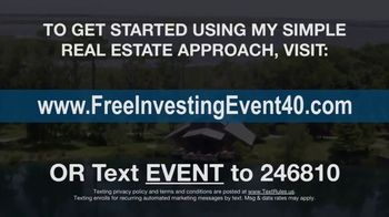 Stansberry & Associates Investment Research TV Spot, 'Real Estate Investing Event' Featuring Dr. Steve Sjuggerud - Thumbnail 9