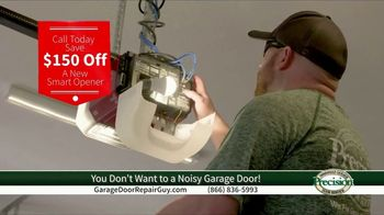 Precision Door Service TV Spot, 'Noisy Garage Door'