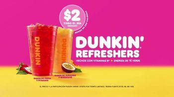 Dunkin' Refreshers TV Spot, 'Refrescantes' [Spanish] - Thumbnail 4