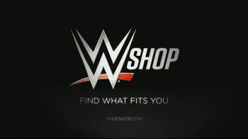 WWE Shop TV Spot, 'Crafted by History: $12 Tees and 40 Percent off Titles' - Thumbnail 8
