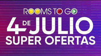 Rooms to Go 4 de Julio Súper Ofertas TV Spot, 'Seccional' [Spanish] - Thumbnail 8