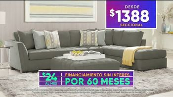 Rooms to Go 4 de Julio Súper Ofertas TV Spot, 'Seccional' [Spanish] - Thumbnail 6
