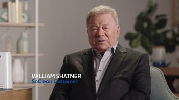 SoClean TV Spot, 'Daily Cleaning: $70 Rebate' Featuring William Shatner - Thumbnail 1