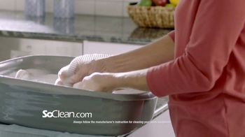 SoClean TV Spot, 'Daily Cleaning: $70 Rebate' Featuring William Shatner